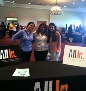 Ashanti, Navile, and Blanca @ Parent Involvement Fair
